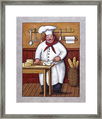 Chef 3 Framed Print by John Zaccheo