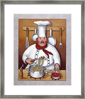 Chef 4 Framed Print by John Zaccheo