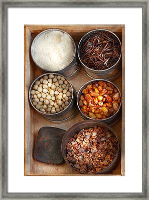 Chef - Food - Health Food Framed Print by Mike Savad