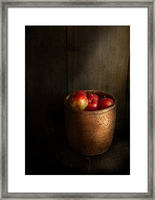 Chef - Fruit - Apples Framed Print