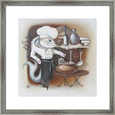 Chef Framed Print