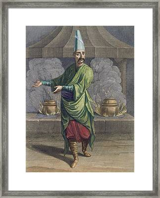 Chef To The Grand Seigneur, Topkapi Framed Print by French School
