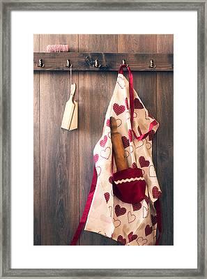 Chefs Apron Framed Print by Amanda Elwell