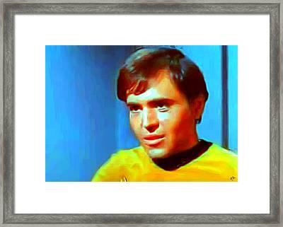 Chekov Framed Print