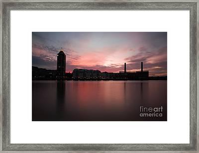 Framed Print featuring the photograph Chelsea Harbour 2 by Mariusz Czajkowski