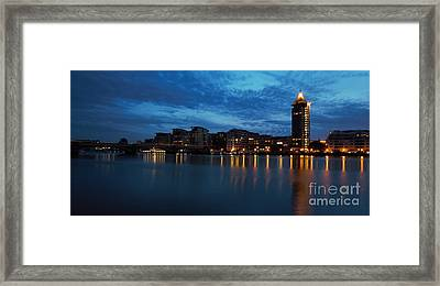 Framed Print featuring the photograph Chelsea Harbour London by Mariusz Czajkowski