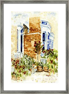 Chelsea Row Framed Print