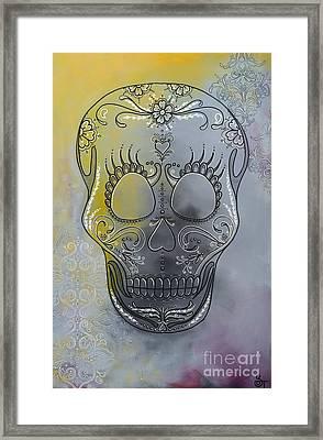 Chelsea Sugar Skull Framed Print