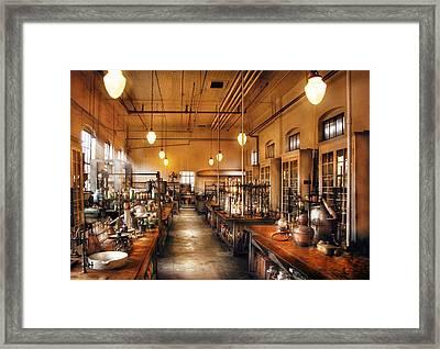 Chemist - The Chem Lab Framed Print