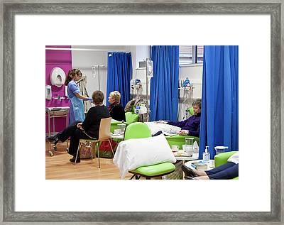 Chemotherapy Ward Framed Print