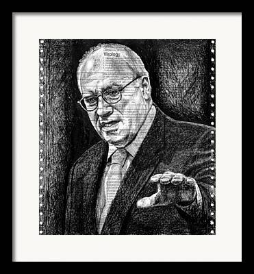 Dick Cheney Framed Prints