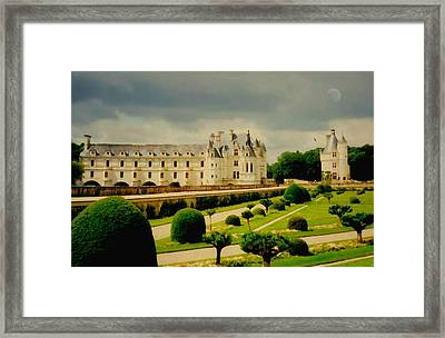 Chenonceau Castle Framed Print by Diana Angstadt