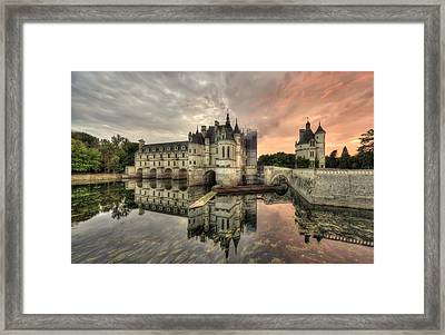 Chenonceau Castle Framed Print by Ioan Panaite