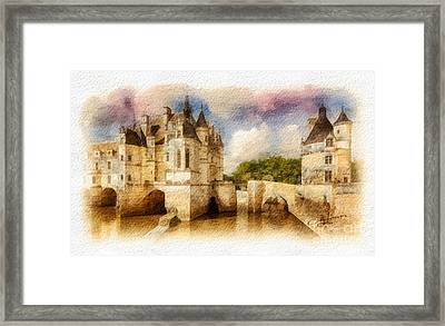 Chenonceau Framed Print