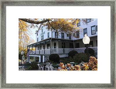 Chequit Inn Shelter Island New York Framed Print by Bob Savage