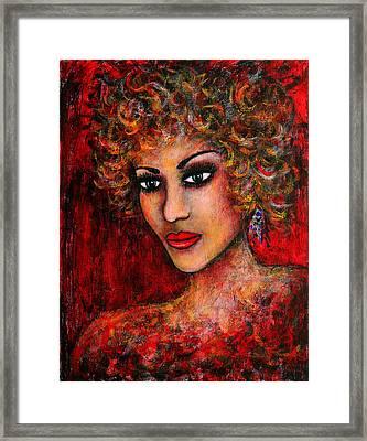 Cherise Framed Print