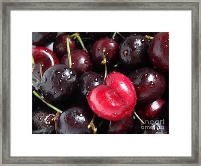 Cherish Framed Print by Lyric Lucas