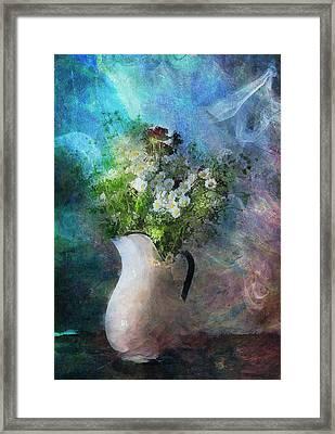 Cherished Rose From Summer Framed Print by Georgiana Romanovna