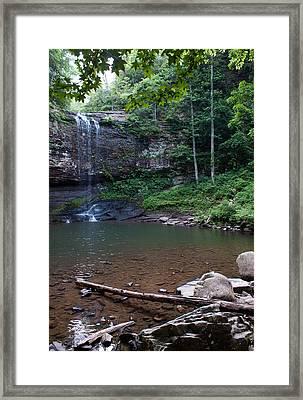 Cherokee Falls Framed Print