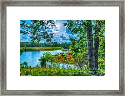Cherokee Lake Tennessee  Framed Print by Bob and Nadine Johnston