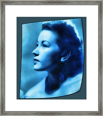 Framed Print featuring the digital art Cherokee Lil by Tyler Robbins