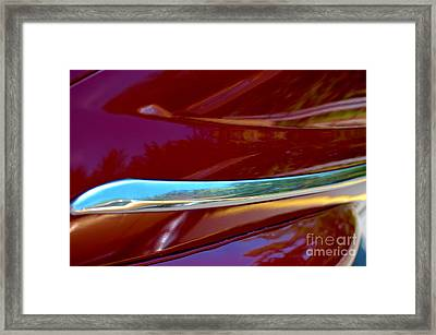 Framed Print featuring the photograph Cherry Bling Bling by Christiane Hellner-OBrien