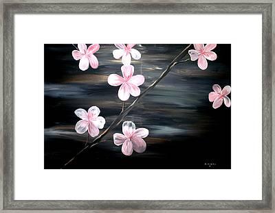 Cherry Blossom  Framed Print by Mark Moore