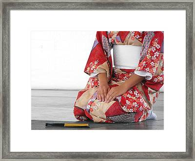 Cherry Blossom Framed Print by Paulina Roybal