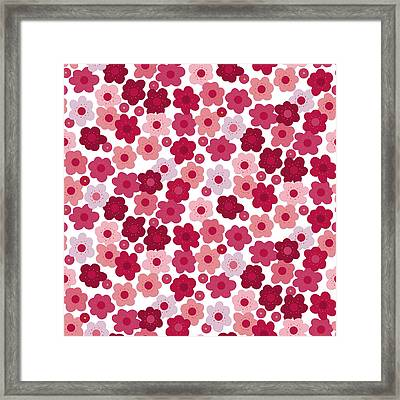 Cherry Blossom Pop Framed Print by Sharon Turner