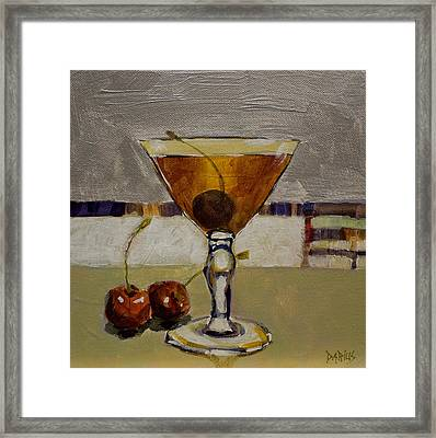 Cherry Bomb Framed Print by Sue  Darius