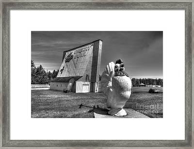 Cherry Bowl Framed Print