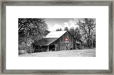 Framed Print featuring the photograph Cherry Dr Pepper by Katie Wing Vigil