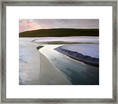 Cherry Grove Beach South Carolina Framed Print