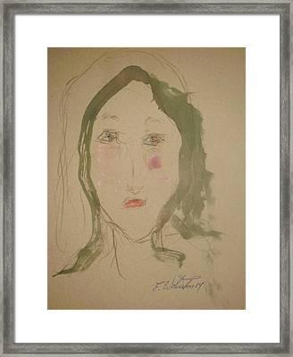 Cherry Hill Framed Print by Edward Wolverton