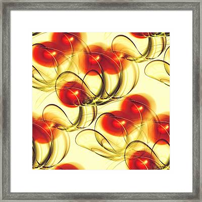 Cherry Jelly Framed Print