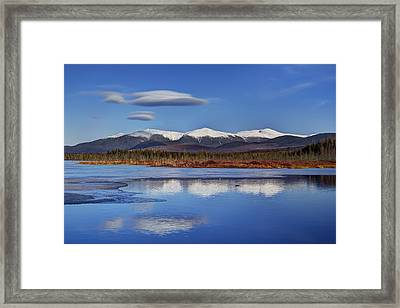 Cherry Pond Lenticulars Framed Print