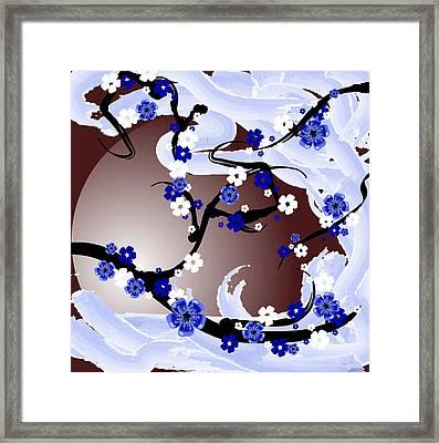 Cherry Tree_wisperwind Framed Print by Mellisa Ward