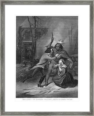 Cherry Valley Massacre Framed Print by Granger