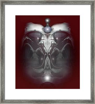 Framed Print featuring the digital art Cherub 7 by Otto Rapp
