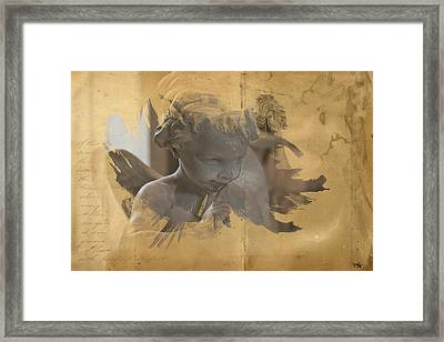 Cherub Framed Print