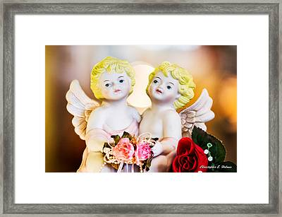 Cherubs Framed Print by Christopher Holmes