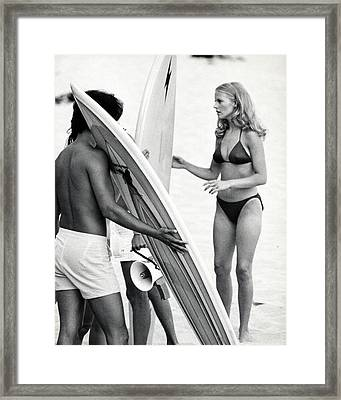 Cheryl Ladd In Charlie's Angels  Framed Print by Silver Screen