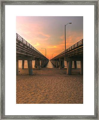 Chesapeake Bay Bridge IIi  Framed Print