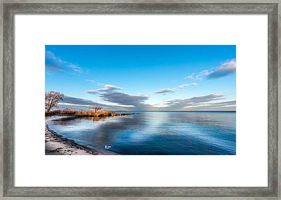 Chesapeake Bay Sky Framed Print