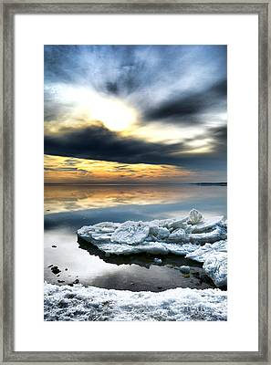 Chesapeake Bay Winter Framed Print