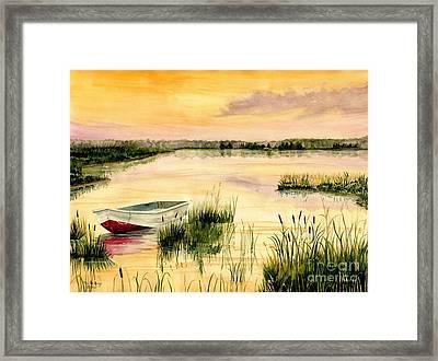 Chesapeake Marsh Framed Print
