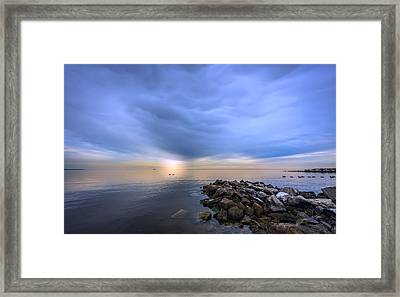 Chesapeake Sunset Framed Print