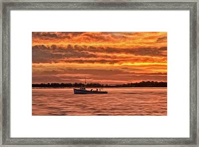 Chesapeake Watermen Framed Print