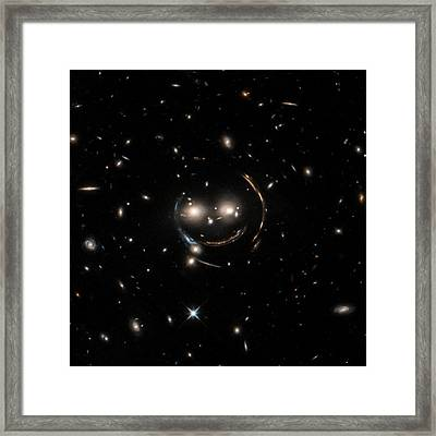 Cheshire Cat Galaxy Group Framed Print by Nasa/chandra X-ray Observatory Center