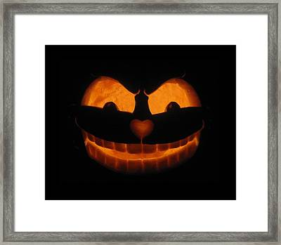 Cheshire Cat Framed Print by Shawn Dall